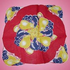 Fruit Bowl Handkerchief