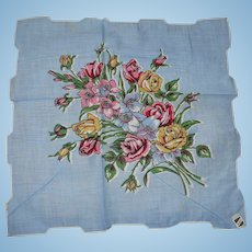 Flower Bouquet Handkerchief