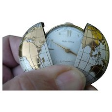 World Pocket Watch Pendant