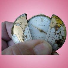 World Pocket Watch Pendant