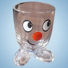 Small Smiley Face Glass