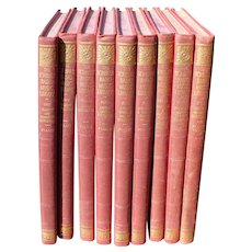 Scribner Music Library 9 Volumes 1946
