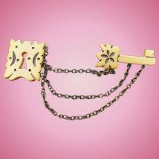 Bakelite Lock Key Pin