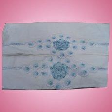 Hand Crochet Pillowcases