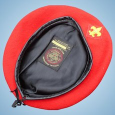 Boy Scout Red Beret