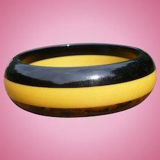 Bakelite Stripe Bracelet