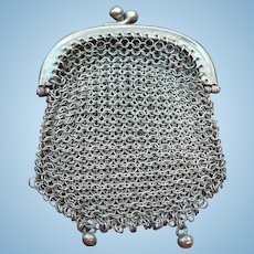 Small Metal Mesh Purse