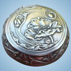 Silver Repousse Compact