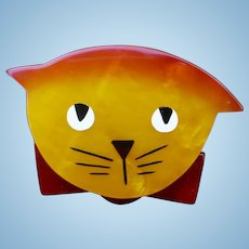 Pavone Cat Pin