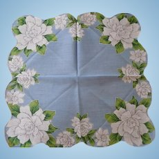 Gardenia Handkerchief