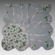 Daisy Bouquet Handkerchief