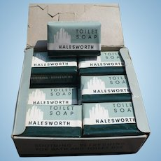 Halesworth 1950's Box of Soap