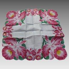 Orchid Handkerchief