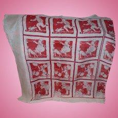 Uncut Childrens Handkerchief Panel