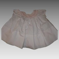 Pink Smocked Baby Dress