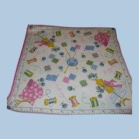 Sewing Handkerchief
