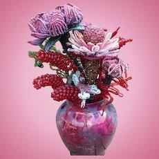 Beaded Flower Arrangement