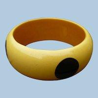 Bakelite Thick Dot Bracelet