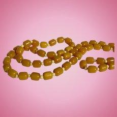 Bakelite Beaded Necklace