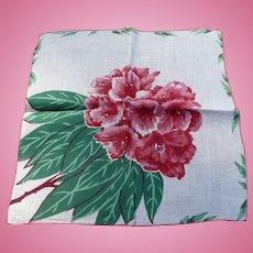 Rhododendrun Handkerchief