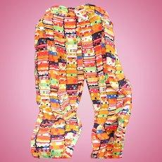 Jams Bakelite Bracelet Print Pants