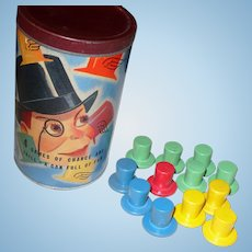 Charlie McCarthy's Flying Hats Game