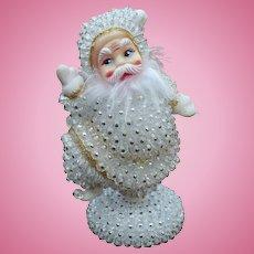 Beaded Santa Figure