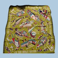 1939 Worlds Fair Scarf