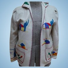 Mexican Embroidered Jacket