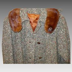 Britainaire Tweed Mink Walking Suit