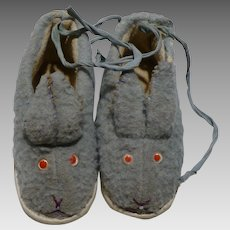Chids Bunnny Slippers
