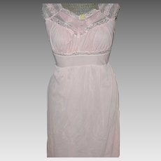 1950's  Nylon Nightgown