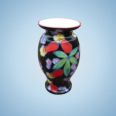 Colorful Czech Vase
