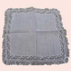 Lace Neiman Marcus Handkerchief