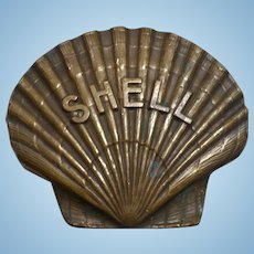 Shell Oil Paperweight