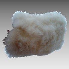 Child's Rabbit Fur Muff