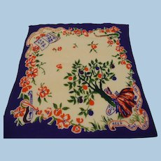 Appletree Love Handkerchief Scarf