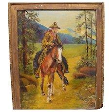Original Cowboy Painting