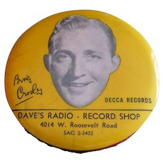 Bing Crosby Record Brush