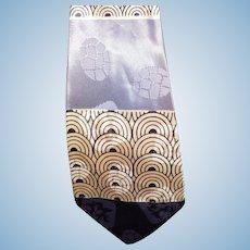 1940's Wide Pattern Tie