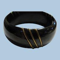 Bakelite Brass Bracelet