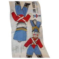 Stitch & Stuff Soldier Boy Doll