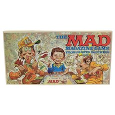 Vintage 1979 Parker Brothers Mad Magazine Board Game