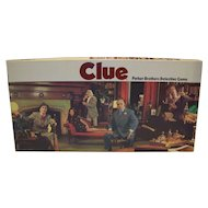 Vintage 1972 Edition Parker Brothers Clue Board Game