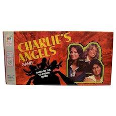 Vintage Milton Bradley 1977 Charlie's Angels Board Game