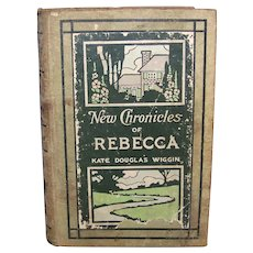 Antique Book Sequel Chronicles Of Rebecca