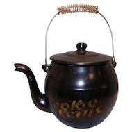 Vintage McCoy Kookie Kettle Tea Kettle Cookie Jar #171