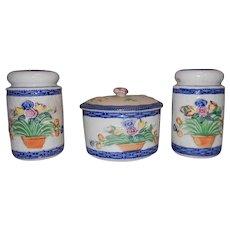 Made in Japan Range Set- Grease Jar, Salt and Pepper