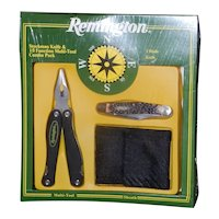 Vintage NIB Remington Stockman 15 Function Multi-Tool with Sheath Combo Pack
