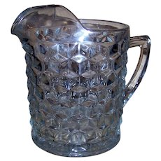 Vintage Fostoria American Clear Pitcher